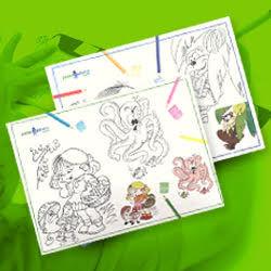 Paperazzurra Giochi E Intrattenimento Bambini A Tavola